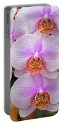 Purple Orchid 1 Portable Battery Charger
