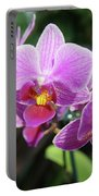 Purple Orchids 2 Portable Battery Charger