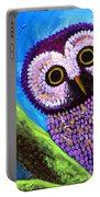 Purple Owl Portable Battery Charger