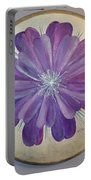 Purple Paradise Portable Battery Charger