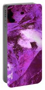 Purple Passion Abstract Portable Battery Charger