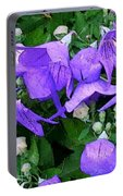 Balloon Flowers Portable Battery Charger