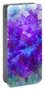 Purple Passion Hydrangea  Portable Battery Charger