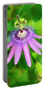 Purple Passion Vine Portable Battery Charger