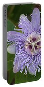 Purple Passionflower #2 Portable Battery Charger