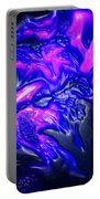 Purple People Eater Portable Battery Charger