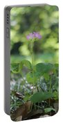 Purple Persists Portable Battery Charger