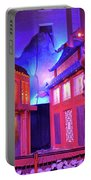 Purple Pink Fantasy Portable Battery Charger
