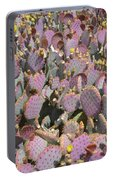 Purple Prickly Pear 3 Portable Battery Charger