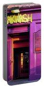 Purple Pub Portable Battery Charger
