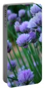 Purple Scallions Portable Battery Charger