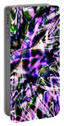 Purple Sea Monster Portable Battery Charger