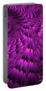 Purple Shell Portable Battery Charger