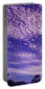 Purple Sky At Casapaz Portable Battery Charger