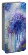 Purple Sofness Portable Battery Charger