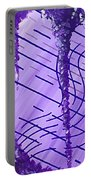 Purple Study Portable Battery Charger