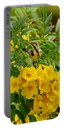 Purple Sunbird Portable Battery Charger