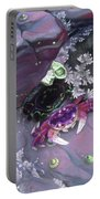 Purple Tidepool Portable Battery Charger