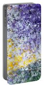 Purple Tree And The Afternoon Sun Portable Battery Charger