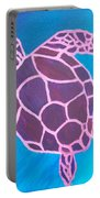 Purple Turtle Portable Battery Charger