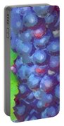 Purple Wine Grapes 2017 Portable Battery Charger
