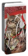 Purr Fect Present Portable Battery Charger