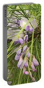 Pushing Though Or Wisteria And Long Needle Pine Portable Battery Charger