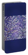 Pussy Willow Mosaic Portable Battery Charger