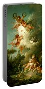 Putti Shooting At A Target Portable Battery Charger