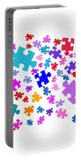 Puzzle Pieces Portable Battery Charger