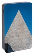 Pyramid Of Caius Cestius Portable Battery Charger
