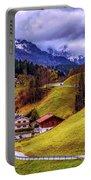 Quaint Bavarian Village Portable Battery Charger