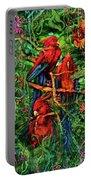 Qualia's Parrots Portable Battery Charger