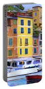 Quayside At Portofino Portable Battery Charger