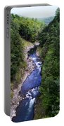 Quechee Gorge In Vermont Portable Battery Charger