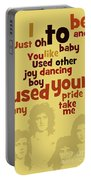 Queen. Can You Order The Lyrics? Dreamers Ball. Portable Battery Charger