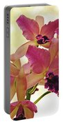 Queen Of Orchids Portable Battery Charger