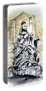 Queen Victoria In Valletta Portable Battery Charger