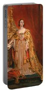 Queen Victoria Taking The Coronation Oath 28 June 1838 Portable Battery Charger