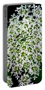 Queens Lace Flower Portable Battery Charger