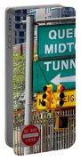 Queens Midtown Tunnel Portable Battery Charger