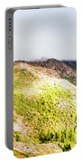 Queenstown Tasmania Wide Mountain Landscape Portable Battery Charger