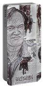 Quentin Tarantino Poster Drawing Portable Battery Charger