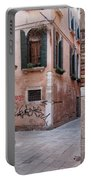 Quiet Corner In Venice Portable Battery Charger
