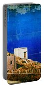 Quiet Day - Olympos - Karpathos Island - Greece Portable Battery Charger