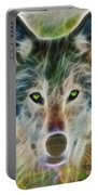 Quiet Majesty - Fractalized Version Portable Battery Charger