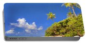 Quiet Tahiti Beach Portable Battery Charger