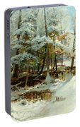 Quiet Winter Afternoon Portable Battery Charger