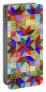 Quilt Pattern No. 1 Portable Battery Charger