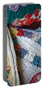 Quilted Comfort Portable Battery Charger